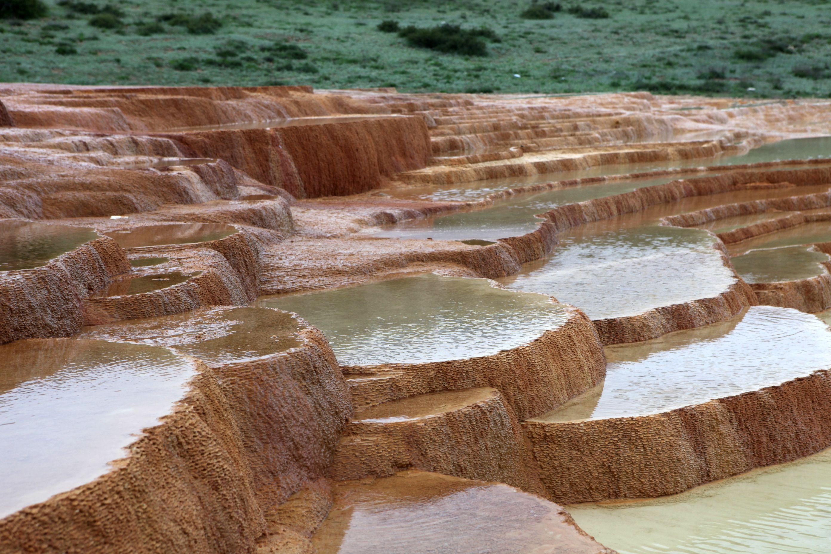 Badab-e Surt hot springs