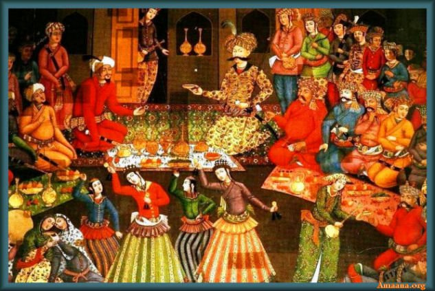 Ancient Persian Festivals and Celebrations
